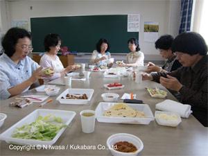 はちみつ講座NHK文化センター豊橋はちみつでクッキング110610