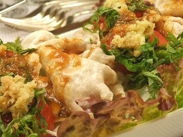 蜂蜜レシピはちみつダレで食べる豚しゃぶサラダ2
