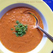 はちみつ料理教室2020年9月bトマトと卵のスープ