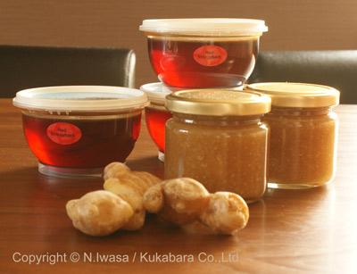 はちみつ講座@NHK文化センター豊橋「はちみつ生姜とお菓子作り」