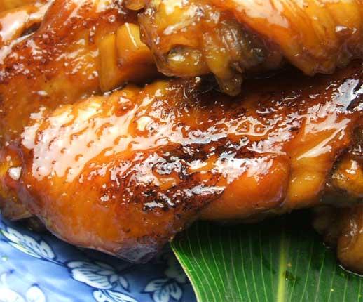 ミタミタユーカリはちみつ黒酢チキン3