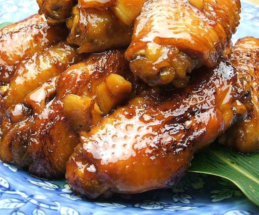 ミタミタユーカリはちみつ黒酢チキン4