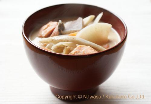 ミタミタのはちみつレシピ「粕汁」2