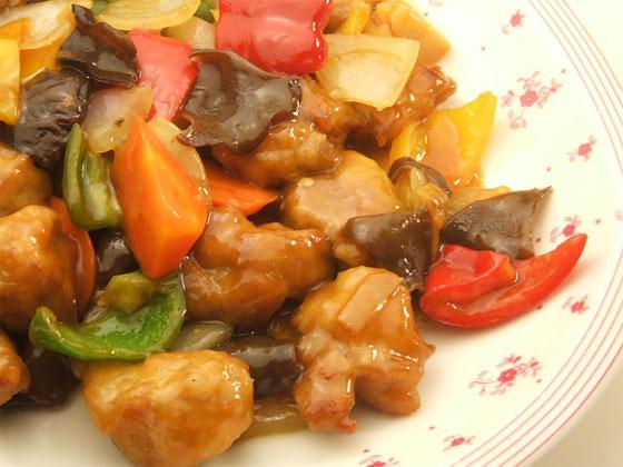 はちみつレシピユーカリはちみつペパーミントで作る酢豚3