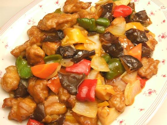 はちみつレシピユーカリはちみつペパーミントで作る酢豚5