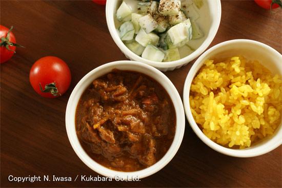 はちみつレシピ:ユーカリはちみつアイアン・バークで作るトマトと豚肉のカレー4
