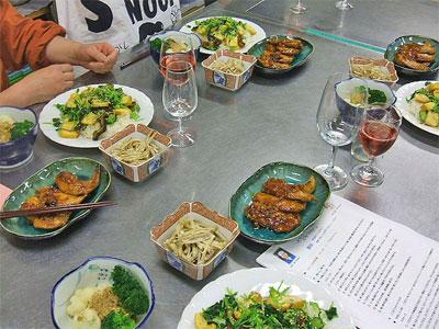 ヴィエオの会オーストラリア産ユーカリはちみつを使った料理2