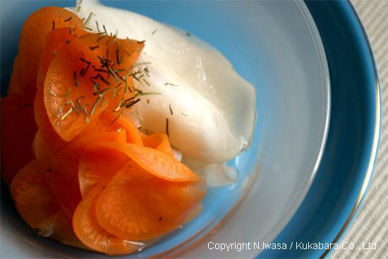 はちみつレシピオーストラリア産ユーカリはちみつアイアン・バークで作る洋風なます5
