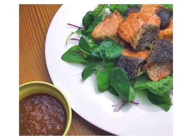 鮭のサラダ1