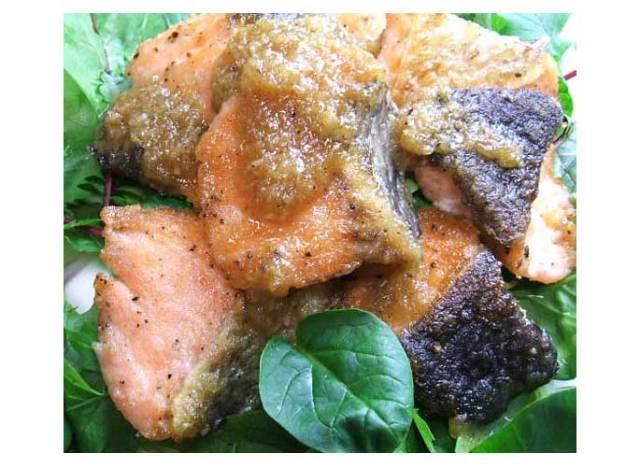 鮭のサラダ2